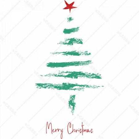 Božična jelka - voščilnica GC0091