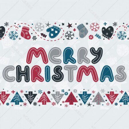 Besedilna božično novoletna - voščilnica GC0102