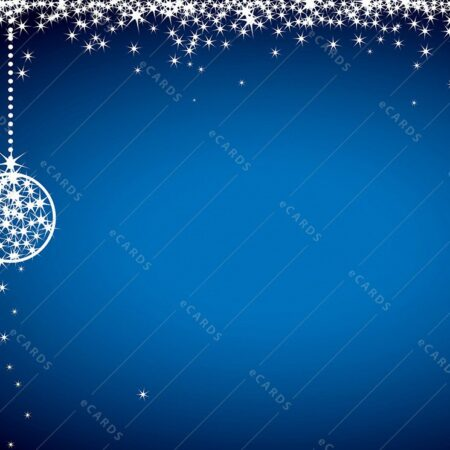 Bleščeča božična - voščilnica GC0087