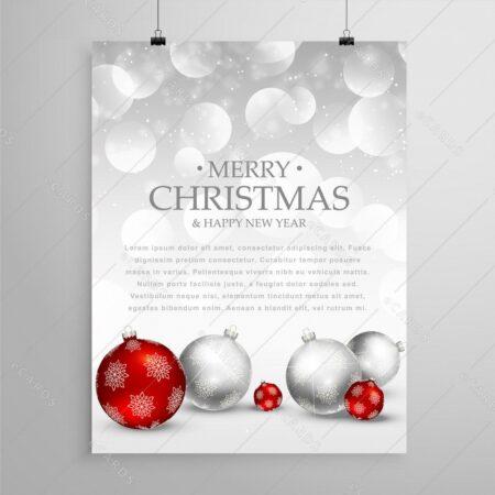 Božična predloga - voščilnica GC0055