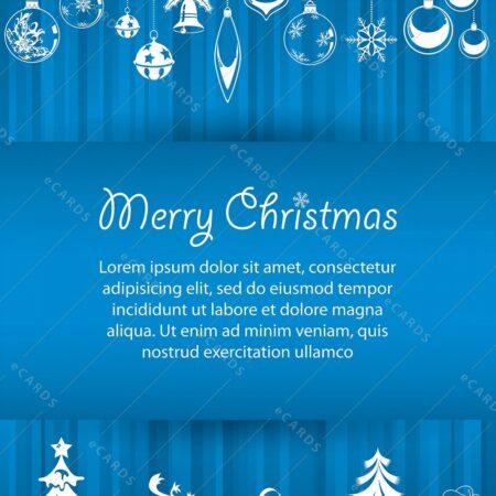 Božična predloga - voščilnica GC0059