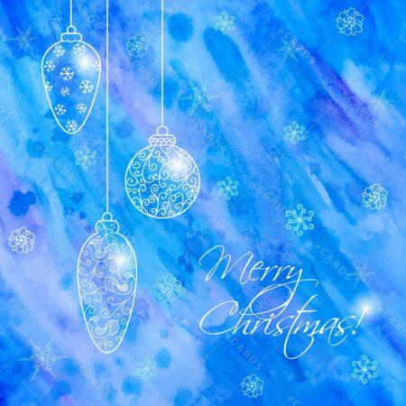 Božične ročno risane bunkice - voščilnica GC0063