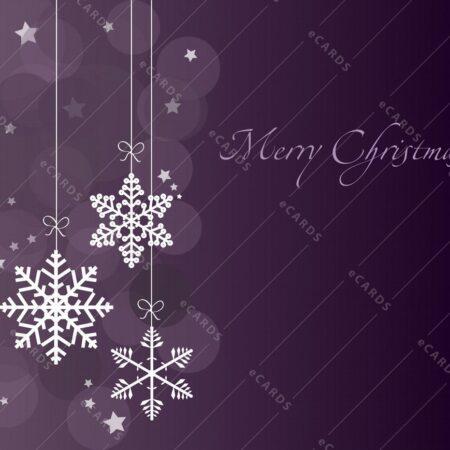 Božične snežinke - voščilnica GC0046