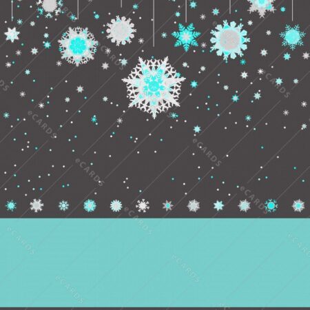 Božične snežinke - voščilnica GC0061