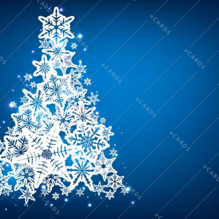 Božično drevo ozadje - voščilnica GC0004