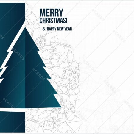 Božično drevo ozadje - voščilnica GC0043
