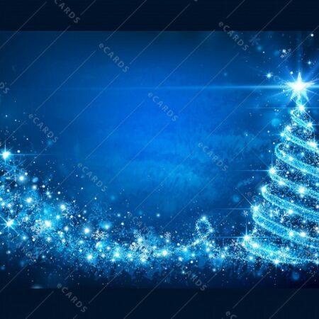 Božično magično drevo - voščilnica GC0045
