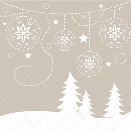 Božično ozadje - voščilnica GC0009