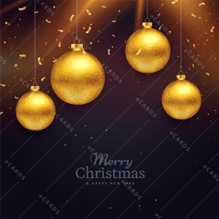 Božično praznično vzdušje  - voščilnica GC0010