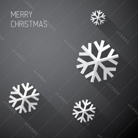 Moderna minimalistična božična - voščilnica GC0131