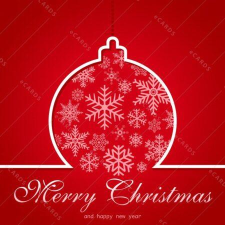 Rdeč božič - voščilnica GC0135