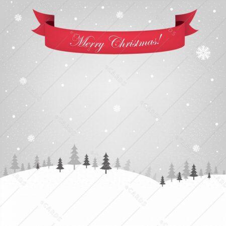 Retro božično novoletna - voščilnica GC0137