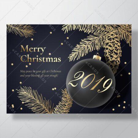 Srečen božič - voščilnica GC0098