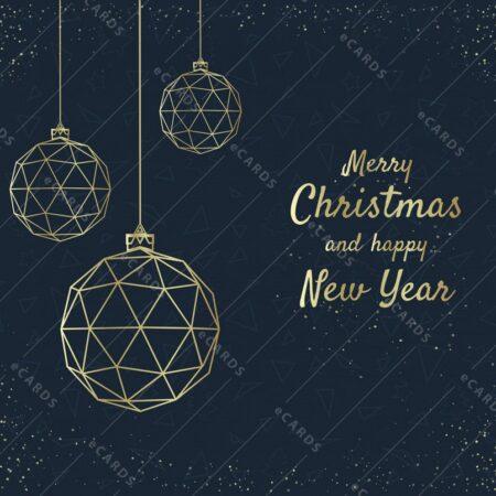 Srečen božič - voščilnica GC0107