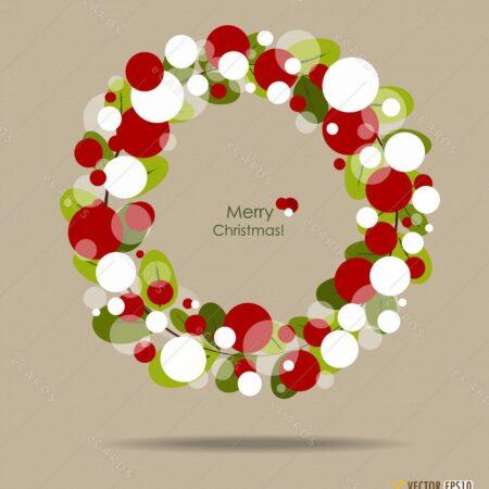Srečen božič - voščilnica GC0115