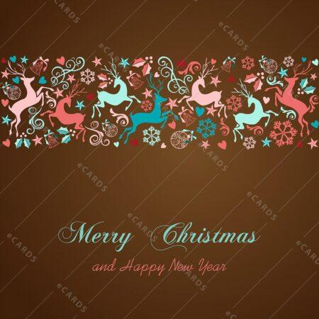 Vesel božič in srečno novo leto - voščilnica GC0099
