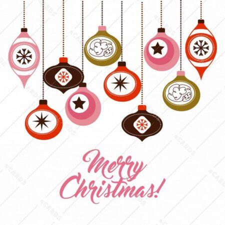 Vesel božič - voščilnica GC0096