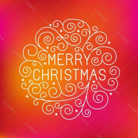 Vesel božič - voščilnica GC0116