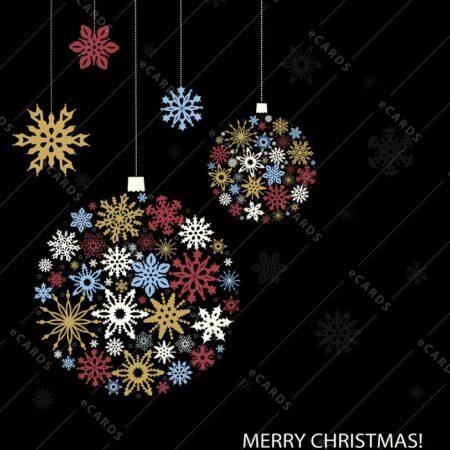 Vesele božične bunkice - voščilnica GC0117